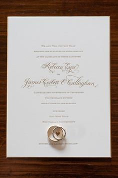 A Sophisticated, At-Home Wedding With Garden-Inspired Flair at a Private Residence in New Canaan, Connecticut Inexpensive Wedding Invitations, Formal Wedding Invitations, Beautiful Wedding Invitations, Elegant Wedding Invitations, Wedding Stationary, Wedding Invitation Cards, Wedding Cards, Invite, Wedding Programs