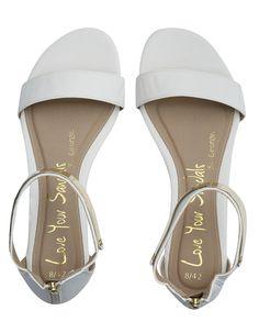 Metal Cuff Sandals. Back zip fastening.  http://direct.asda.com/george/womens/shoes-boots/metal-cuff-sandals/G004545833,default,pd.html