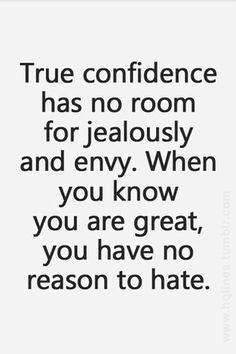 True confidence!!