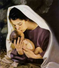 Mary, the mother of Jesus. What an honorable and precious woman.