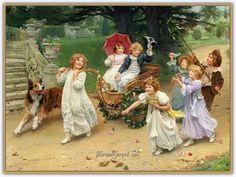 Arthur John Elsley (1860 - 1952)   İngiliz Ressam - Sayfa 2 - Forum Gerçek