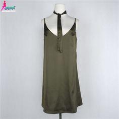 Gagaopt V-Neck Strap Beach Dress Sexy Summer Dress with Sashes Tunic Mini Women Dress Robe Femme D0535
