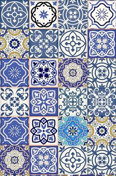 Set of 24 Tiles Decals Tiles Stickers mixed Tiles for by AlegriaM