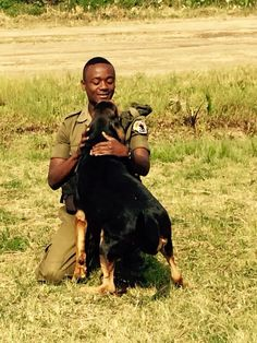 Congohounds  Trained to work with the Virunga National Park Rangers to catch poachers.
