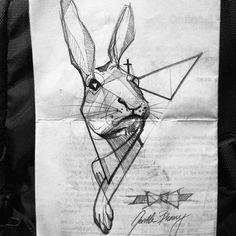 #gentle #bunny #berlin #convention #tattoo #sketch