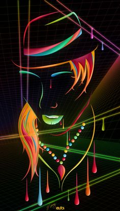 Bright and colorful digital art by Jeremy Young - ego-alterego.com#.VP8Pxenwvrd#.VP8Pxenwvrd