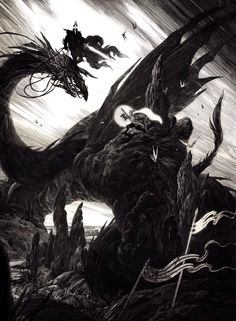 'Éowyn y el Rey Brujo de Angmar'