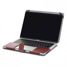"Housse MacBook Pro 13"" simili cuir marron Macbook Pro 13, Macbook Laptop, Blackberry, Electronics, Phone, Saddle Bags, Slipcovers, Telephone, Blackberries"
