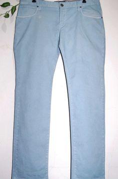 HUGO BOSS ORANGE Men's Light Blue Slim Fit Cotton Blend Jeans Size 38/32 NEW #HUGOBOSS #SlimSkinny
