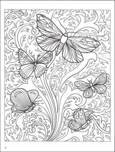 Lovely Abstract Coloring Books