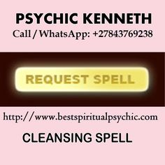 Ask Online Psychic Healer Kenneth Call / WhatsApp