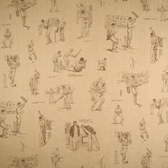PERFECT for cricket mad boys. by Linwood Fabrics & Wallpapers. Available from Victoria Clark Interiors. Room Wallpaper, Fabric Wallpaper, Victoria Clark, Mad Boy, Linwood Fabrics, Cricket Wallpapers, The Sporting Life, Cricket Sport, Fabulous Fabrics