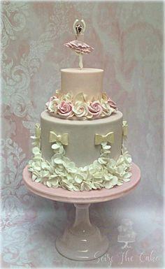 Ballerina Birthday Cake by Seize The Cake