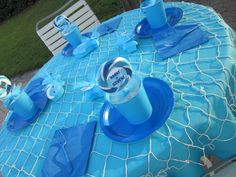 """Photo 2 of 17: Sharks / Birthday """"Brant's 7th Birthday Party Swimming with the Sharks"""" 