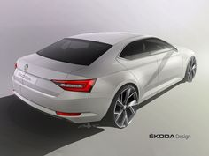 Skoda previews the new Superb