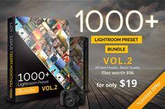 1000+ Lightroom Preset Bundle Vol.2 by pmvchamara on Creative Market
