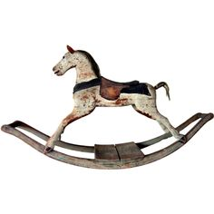 Early American Rocking Horse