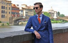 """Summer suiting (btw, is this what they call """"Blogger..."""