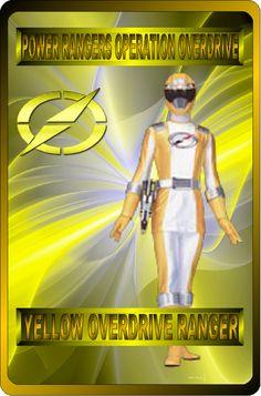 Yellow Overdrive Ranger by rangeranime on @DeviantArt