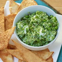 Bestselling cookbook author Pam Anderson, and her two daughters make dips to munch on while they cook the rest of the meal.  Serve this spread with cut vegetables for a low carb alternative.
