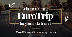 Win an incredible EuroTrip w/ @tens  ☀️ Sunglasses which Time Magazine called 'An Instagram filter for real life' -