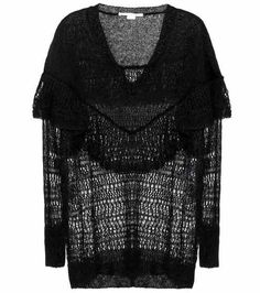Knitted sweater made of mohair wool  Stella McCartney