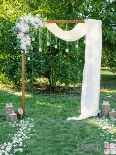 52 warm and eye catching fall wedding ideas to inspire you weddingideas weddingdecorideas fallweddingideas flammingideas com calling this palm springs wedding at the pond estate an elevated backyard wedding is a major understatement Diy Outdoor Weddings, Wedding Decorations On A Budget, Wedding Reception On A Budget, Simple Wedding Arch, Simple Weddings, Diy Wedding Arch Flowers, Wood Wedding Arches, Wedding Backdrops, Fall Wedding