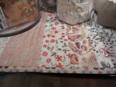 liberty quilted table runner