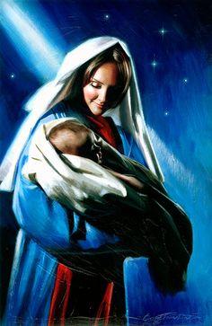 Mary & Jesus by Robert Hefferan