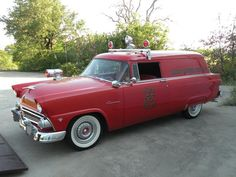 '55 Ford Courier Sedan Delivery Fire Chief's Car