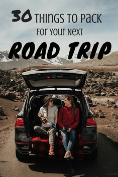 30 Road Trip Essentials You Need To Be Packing - TheMandagies.com