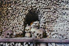 Church of All Saints (ossuary) - Kutna Hora All Saints, Cemetery, Bohemia, Memorial Park