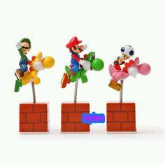 Center pieces Mario bros