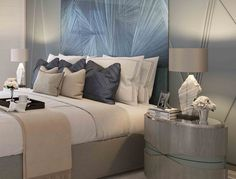 Guest Bedroom Detail, Villa la Vague - Morpheus London