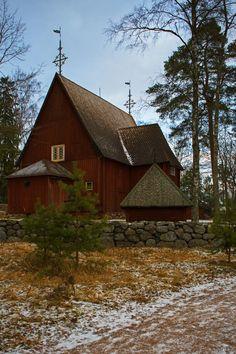**Seurasaari Island and Open-Air Museum (island with a folk museum and folk houses) - Helsinki, Finland