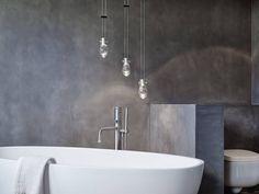 Josep Ruà Spatial Designer Creates an Elegant Penthouse in Valencia, Spain Luz Natural, Ampoule Design, Interior Styling, Interior Design, Neutral Palette, Grey Bathrooms, Design Moderne, Cuisines Design, Pent House