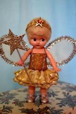 Vintage H. Christmas Tree Fairy, Christmas Past, Christmas Tree Decorations, Vintage Christmas, Christmas Ornaments, Antique Dolls, Vintage Dolls, Vintage Fairies, Fairy Dolls