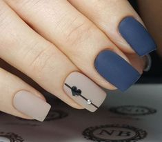 A manicure is a cosmetic elegance therapy for the finger nails and hands. A manicure could deal with just the hands, just the nails, or Heart Nail Designs, Acrylic Nail Designs, Nail Art Designs, Nails Design, Acrylic Nails, Matte Gel Nails, Nail Polish, Stiletto Nails, Coffin Nails