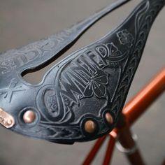Winter Bicycles - Laubgravur