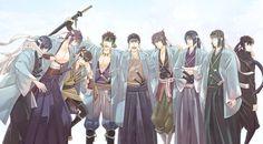 Shinsengumi | Hakuouki
