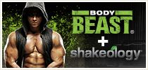 BodyBeast $180 comes with a bag (30 days supply) Shakeology