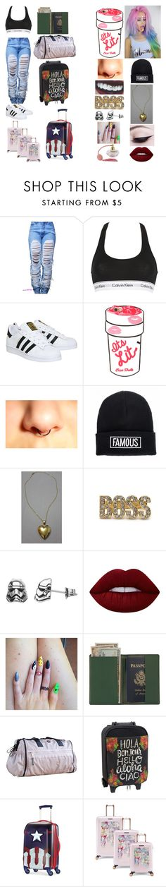 """""""Sem título #224"""" by evillrainbow ❤ liked on Polyvore featuring Calvin Klein Underwear, adidas, Quiz, Lime Crime, Royce Leather, lululemon, Natural Life, Marvel and House of Fraser"""