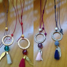 My bohemian life!!!! Necklace