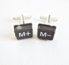 Math Teacher Cufflinks