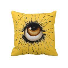 The Glaze Art Throw Pillow by SimonaMereuArt $63.50