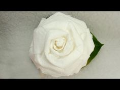 Paper plate roses this videos shows not only how to make a rose make a paper rose out of a napkin tutorial great wedding decorations youtube mightylinksfo
