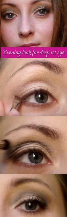 32 Best Makeup Tips for Deep Set Eyes | Perfect winged eyeliner ...
