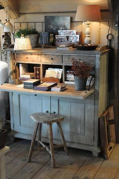 Have a peak at our French Country Cottage range - just say oui! Prim Decor, Country Decor, Farmhouse Decor, Primitive Decor, Country Chic, French Country, Painted Furniture, Home Furniture, Cocina Shabby Chic