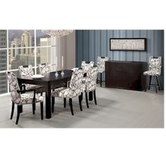 BERMEX TBRE-481 DINING SUITE  Canadian Made Quality  Solid Wood