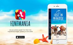 Fontmania iOS App turns your photos into greeting cards. I love that we now have the ability to take photos everyday, everywhere we go. It's there. In the palm of our hands. Our phones become windows …